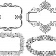 Vector decorative frames -  