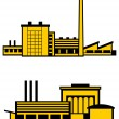 Royalty-Free Stock Vector Image: Factories