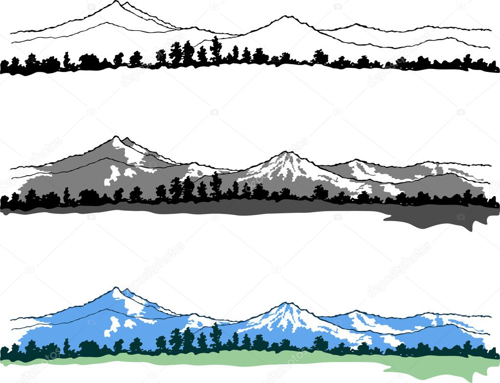 Mountain Vector Art