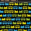 Stock Vector: Pattern train 2