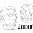 The heads — Stock Vector