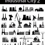 Industrial buildings 2 — Stock Vector #5674071