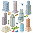 Stock Vector: Skyscraper
