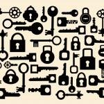 Keys and locks — Stock Vector