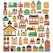 Stock Vector: Houses