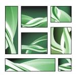 un conjunto de patrones abstractos — Vector de stock