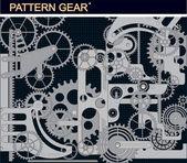 Pattern gear — Stock Vector