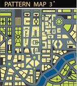 Map city — Stock Vector