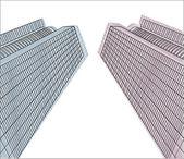 Vector buildings1 — Stock Vector