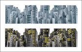 City banner — Stock vektor