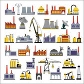 Industrial buildings — Vector de stock