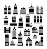 City buildings — Stockvektor