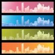 City banner - Stock Vector