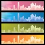 City banner — Stock Vector #6375984