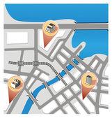 City Map — Stock Vector