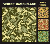 Vector camouflage — Stockvector