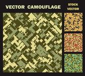 Vecteur camouflage — Vecteur