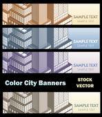 City theme — Stock Vector