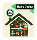 The Home — Vector de stock