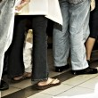 Standing in Line — Stock Photo #6333200