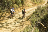 Mountain Bike Adventure — 图库照片