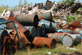 Industrial Waste — Stock Photo