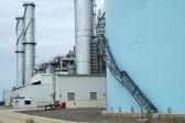 Power Plant Chimney — Stock Photo