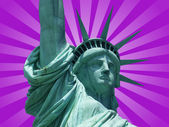 Statue of the freedom — Stock Photo