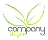 Bio Logo Company — Stock Vector