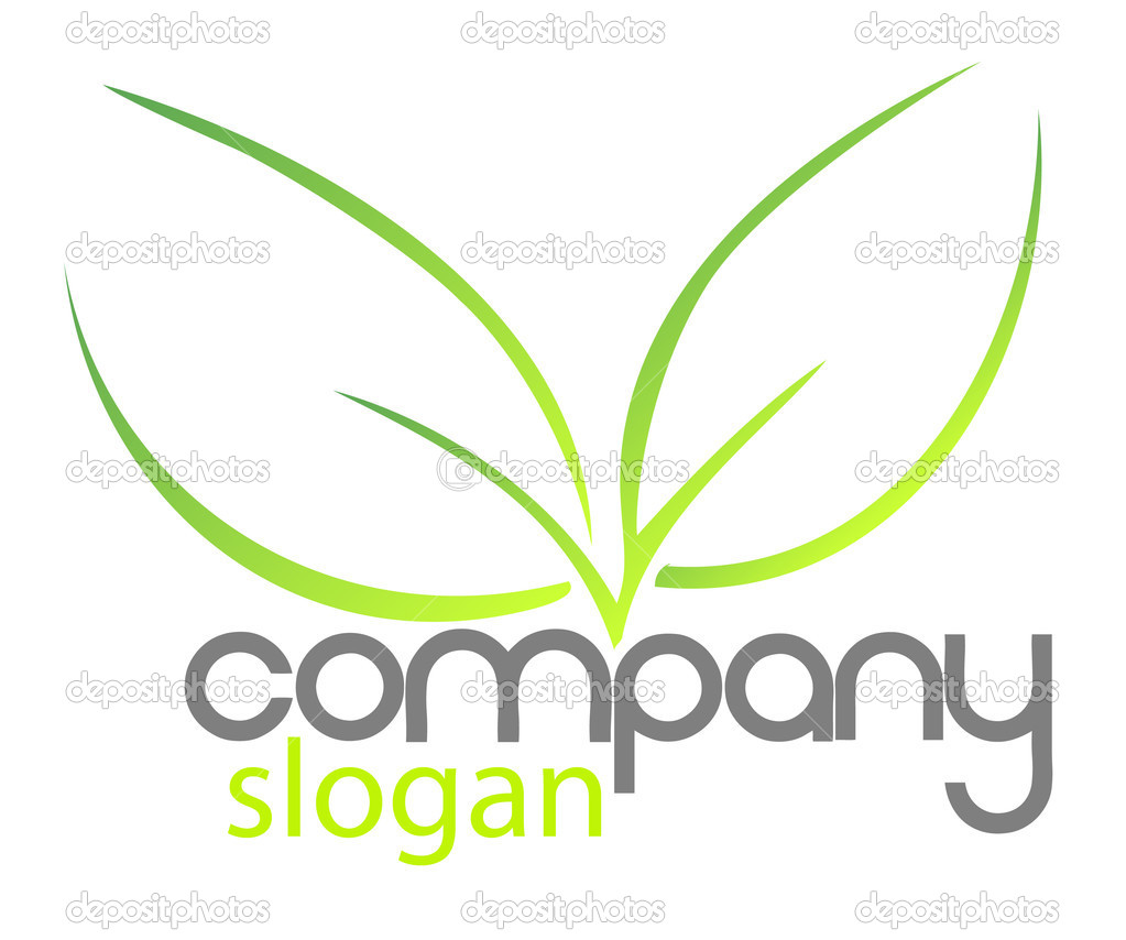 Logo for your company - illustration isolated on white — Stock Vector #5603644
