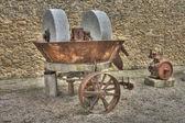 Old mill wheel — Stock Photo