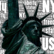Stock Photo: Statue of freedom