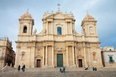 View of Noto baroque town, in Sicily (Italy). — Stock Photo