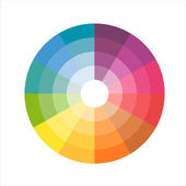 Color wheel — Stock Vector