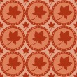 Autumn pattern - Stock Vector