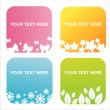 Seasonal frames — Vector de stock #5742614