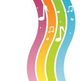 Fondo musical — Vector de stock