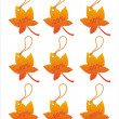Autumn sale tags - Grafika wektorowa