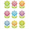 Flowers icons — Stock Vector #6015762