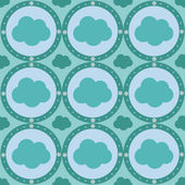 Cloud pattern — Stock Vector