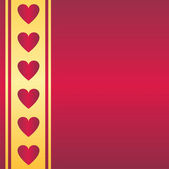 St. valentine's background — Vector de stock