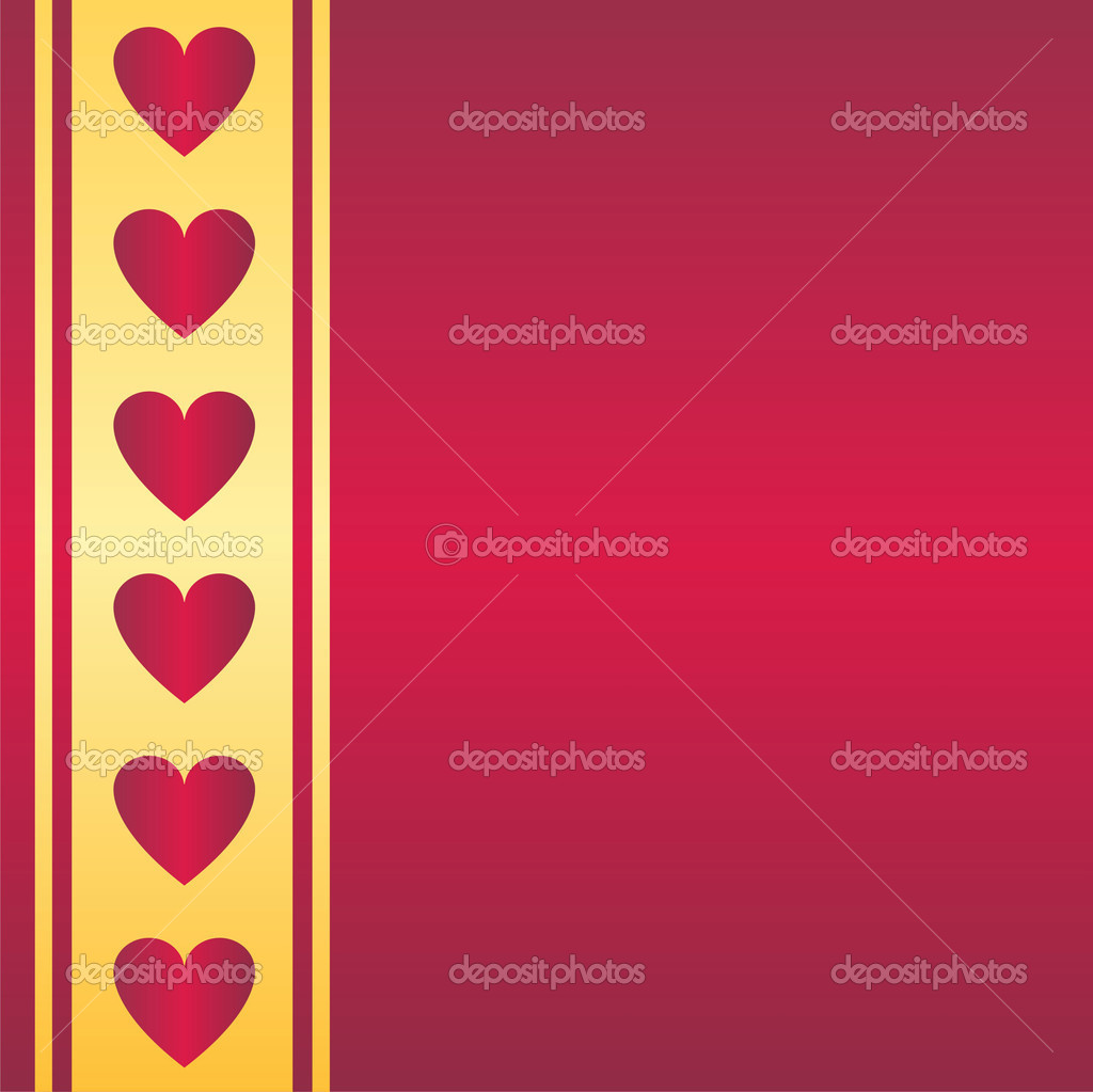 Glossy st. valentine's background  Stock vektor #6086417
