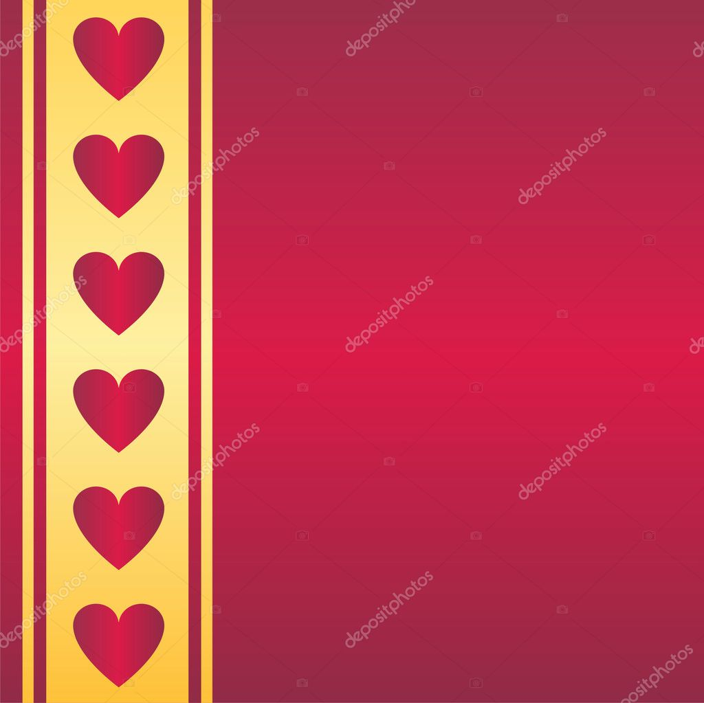 Glossy st. valentine's background — Stockvectorbeeld #6086417