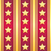Stars seamless texture — Vector de stock