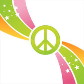 Peace background — Stock Vector