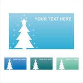 Winter frames — Stock Vector