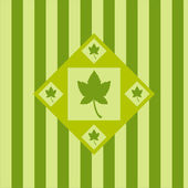 Autumn leaf background — Stock Vector