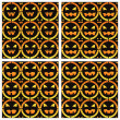 Royalty-Free Stock Vektorfiler: Scary halloween patterns