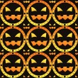 Stock Vector: Halloween pattern