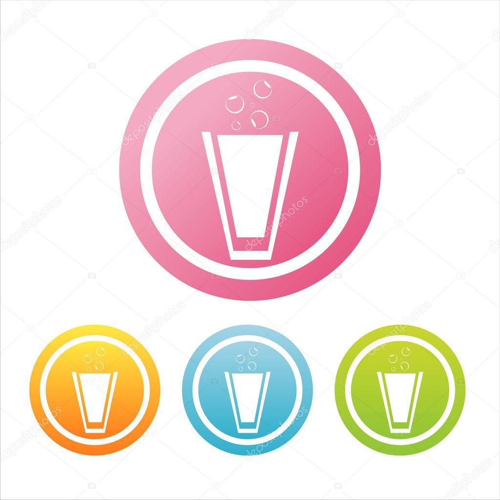 灯招牌 darumo  九个创意矢量食品标志 natalie-art  多彩多汁的水果